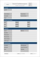 Checkliste Stichprobenplan